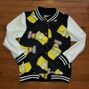"Rare LNK Landscape ""Bart Simpson"" Jacket Medium"